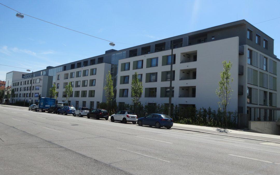 Neubau Kompetenzzentrum in München (Kompaktdach)